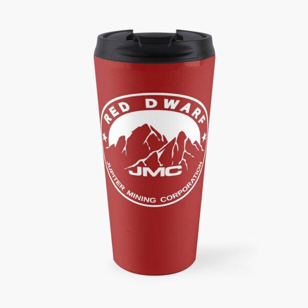 Red Dwarf JMC Jupiter Mining Corporation Sign Logo Travel Mug