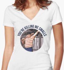 You're Killing Me Smalls - Sandlot Women's Fitted V-Neck T-Shirt