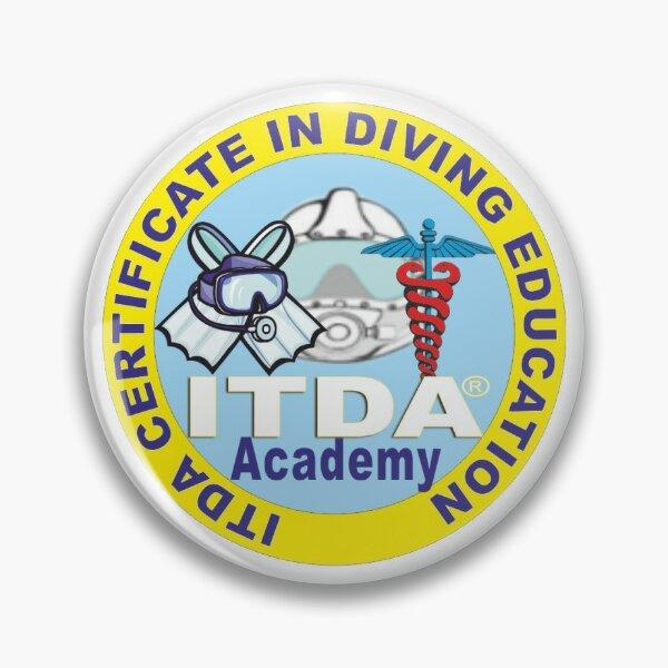 Certificate in Diving Education Pin