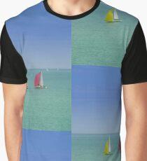 Coloured Sails Graphic T-Shirt