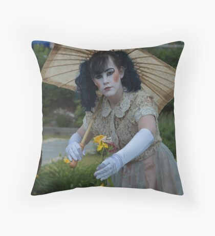 A Gift of Flowers Throw Pillow
