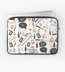 The Foxhole Court Pattern Laptop Sleeve