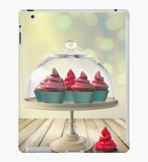 Cupcakes 3D modeling iPad Case/Skin