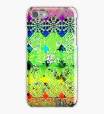 Mandala effect psychedelic take album art  iPhone Case/Skin