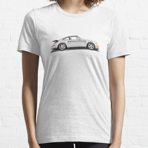 Porsche 911 Turbo (965) (white) Essential T-Shirt