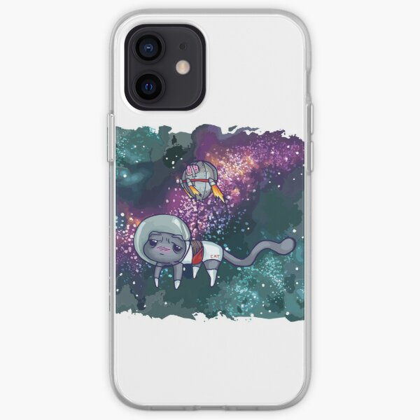 Theoretical Space Cat iPhone Soft Case