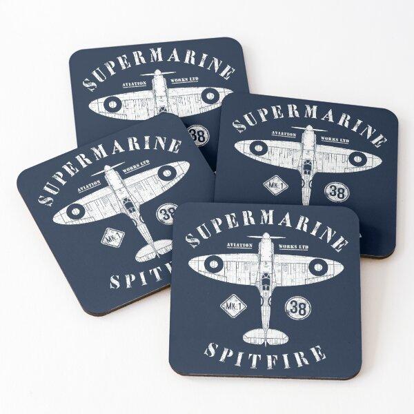 Spitfire Coasters (Set of 4)