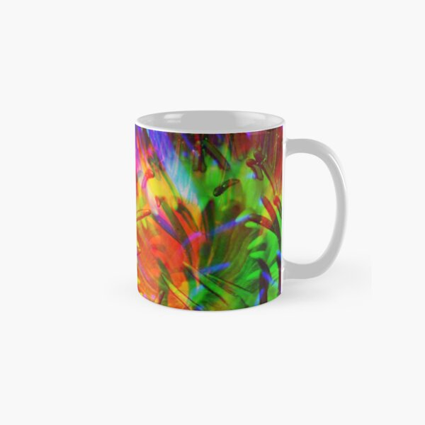 Abstract Water Lily Classic Mug