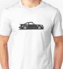 Porsche 911 Turbo (965) (black) T-Shirt
