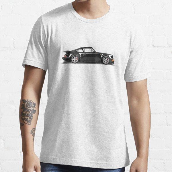 Porsche 911 Turbo (965) (black) Essential T-Shirt