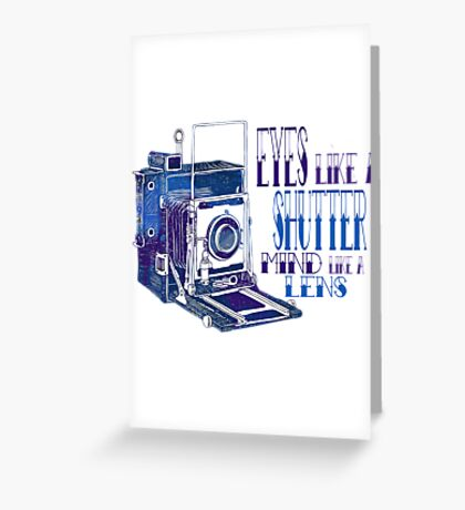 Photographer's Soul Greeting Card