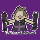 Gosh I Love Arrows by geothebio