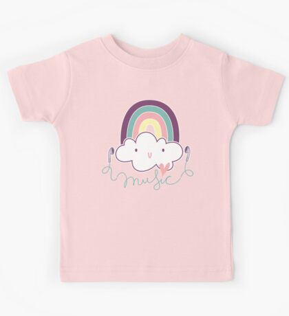 I Love Music Doodle Kids Clothes
