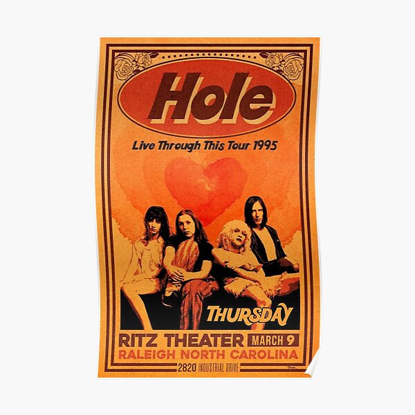 Hole Band 1995 Poster