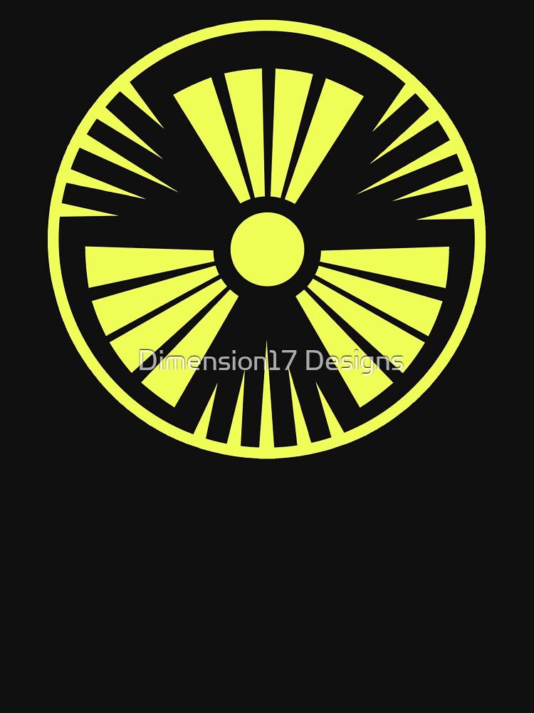 MUTO Radioactive Zone; Nuclear - Yellow by CarryOnWayward