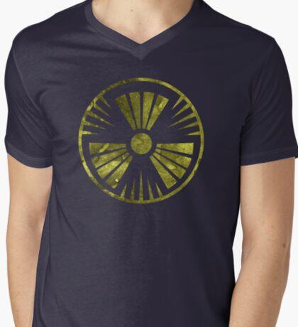 MUTO Radioactive Zone; Nuclear - Yellow Grunge T-Shirt
