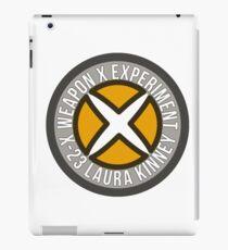 Weapon X-23 iPad Case/Skin