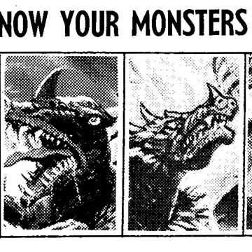 Know Your Monsters? by kaijucast