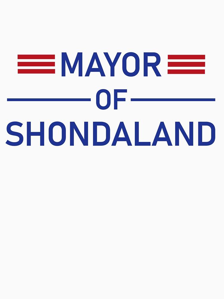 Mayor of Shondaland by calbeard