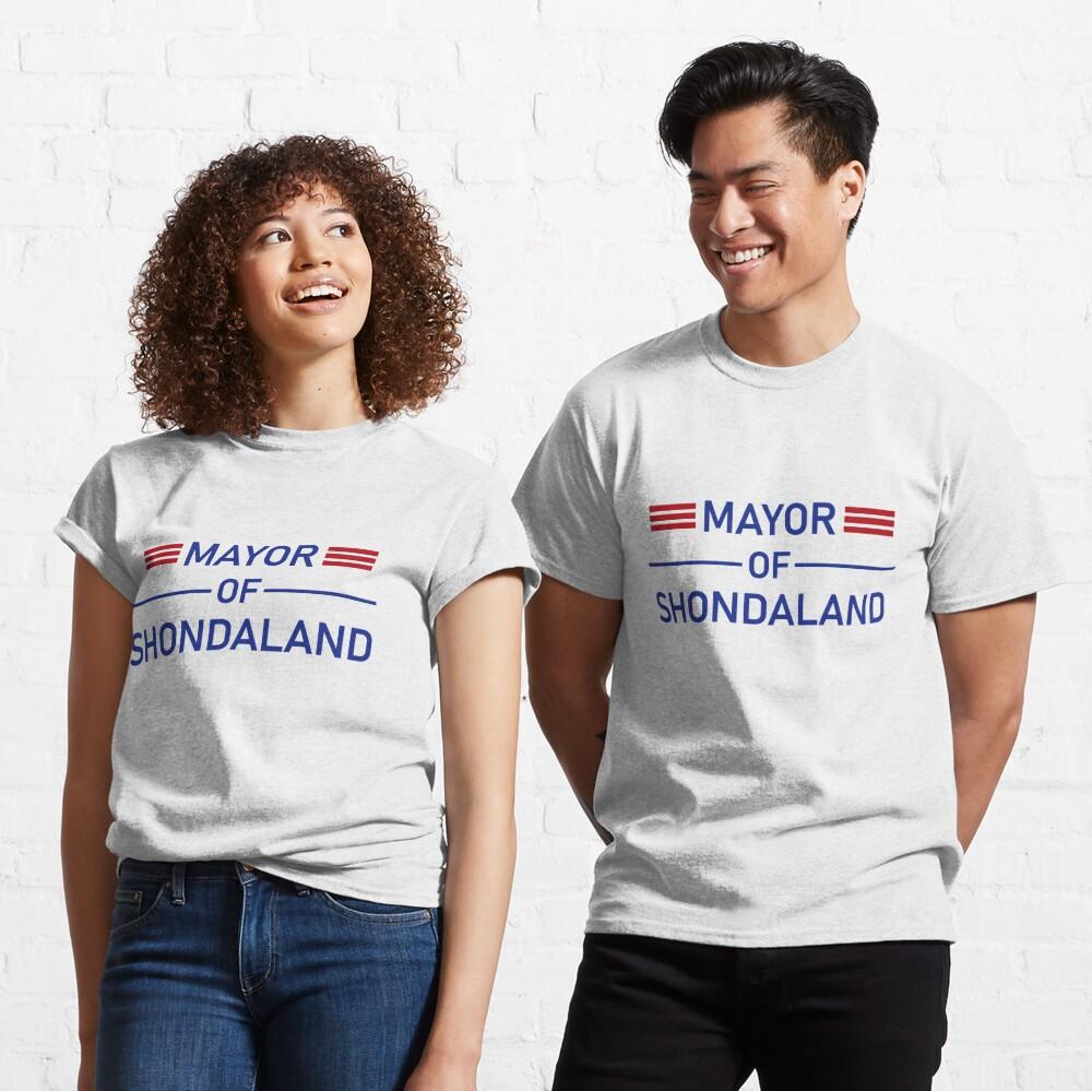 Mayor of Shondaland Classic T-Shirt