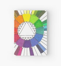 Color Compass Mandala Hardcover Journal
