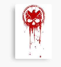Compromised (RED) Canvas Print