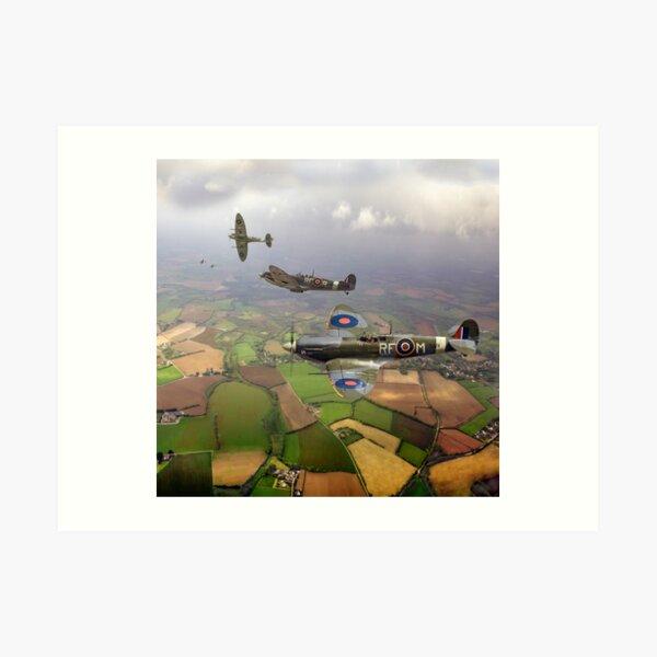 Spitfire sweep Art Print