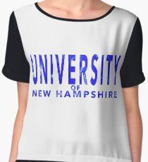 University of New Hampshire Women's Chiffon Top