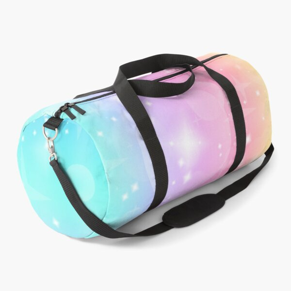 Kawaii Magical Unicorn Sparkle Pattern Duffle Bag
