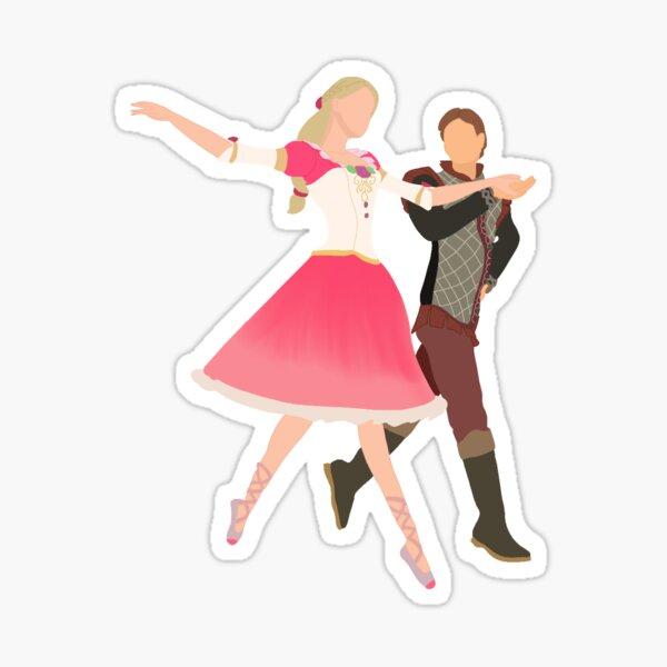 genevieve and derek Sticker