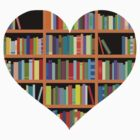 Books heart by SamanthaClaire7