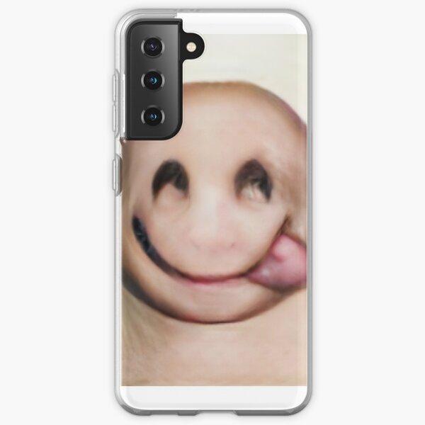 Human Emoji Hungry Tongue Samsung Galaxy Soft Case