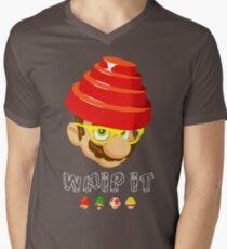Crack That Whip Mens V-Neck T-Shirt