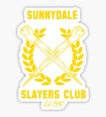Sunnydale Slayers Club Sticker