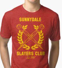 Sunnydale Slayers Club Tri-blend T-Shirt