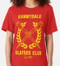 Sunnydale Slayers Club Slim Fit T-Shirt