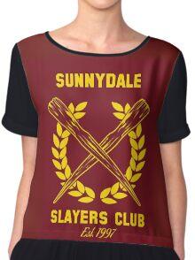 Sunnydale Slayers Club Chiffon Top