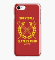 Sunnydale Slayers Club iPhone Case/Skin