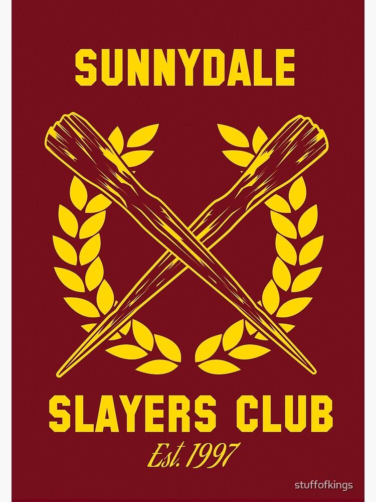 8de7c3d3430ca Sunnydale Slayers Club | Photographic Print