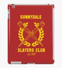 Sunnydale Slayers Club iPad Case/Skin