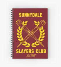 Sunnydale Slayers Club Spiral Notebook