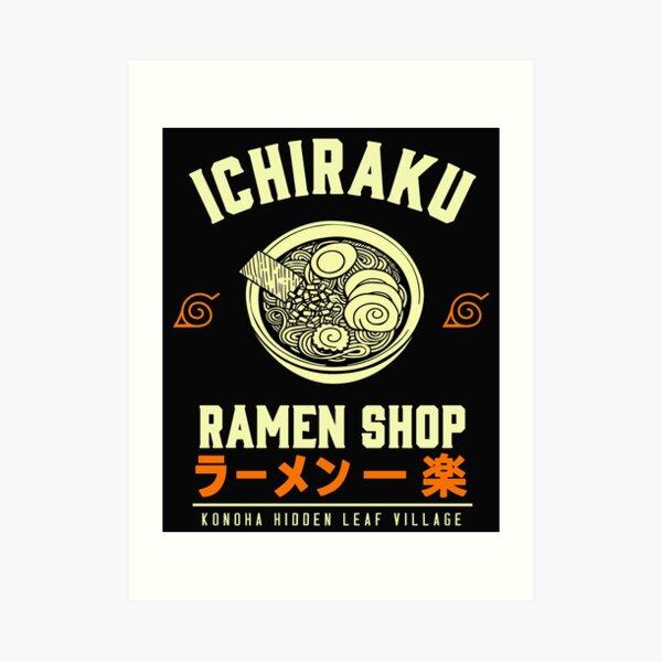 Tienda Ichiraku Ramen Lámina artística