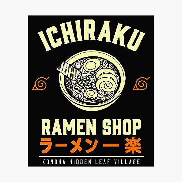Ichiraku Ramen Shop Photographic Print