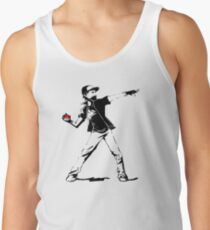 Banksy Pokemon Tank Top