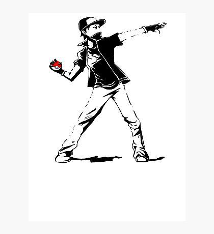Banksy Pokemon Photographic Print