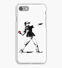 Banksy Pokemon iPhone Case/Skin