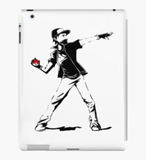 Banksy Pokemon iPad Case/Skin