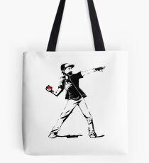 Banksy Pokemon Tote Bag