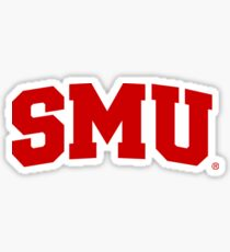 SMU  Sticker