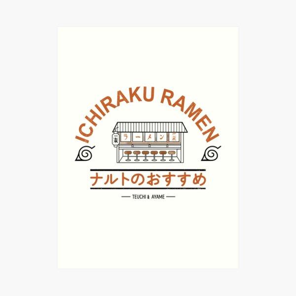 ichikaru ramen shop Art Print